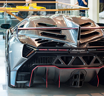 Visit the Lamborghini museum and factory