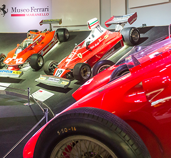Guided tour at the Museo Ferrari included