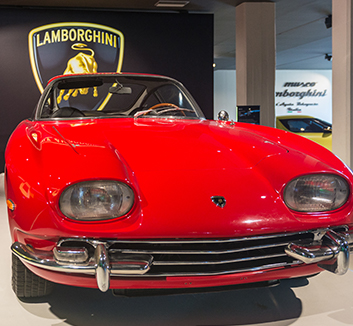 We also pay a visit to Sant'Agata for the Lamborghini museum & factory