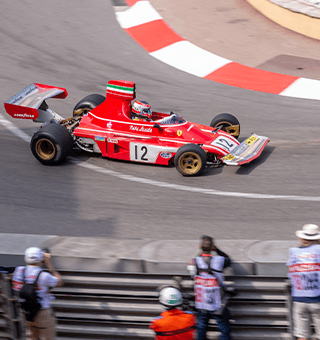 Ferrari rounds the Fairmont Hairpin, Monaco (c)Simon PR Benson