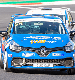 Clio Cup action at Brands Hatch (c)Simon PR Benson