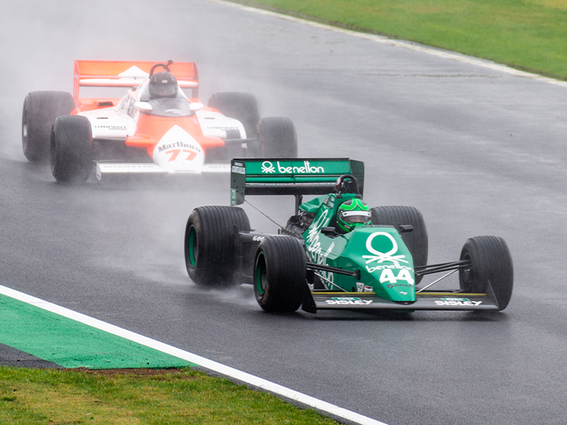 Expect typical summer weather for the Silverstone Classic
